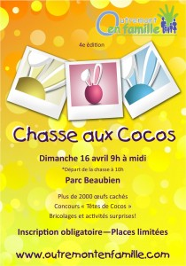 Affiche Chasse cocos 2017